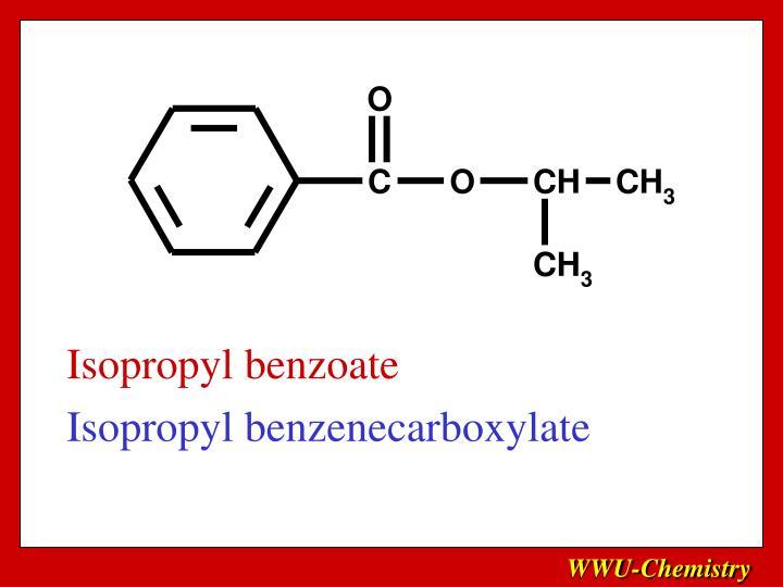Isopropyl benzoate