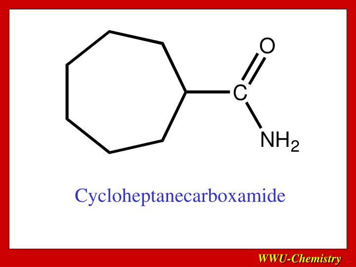 Cycloheptanecarboxamide