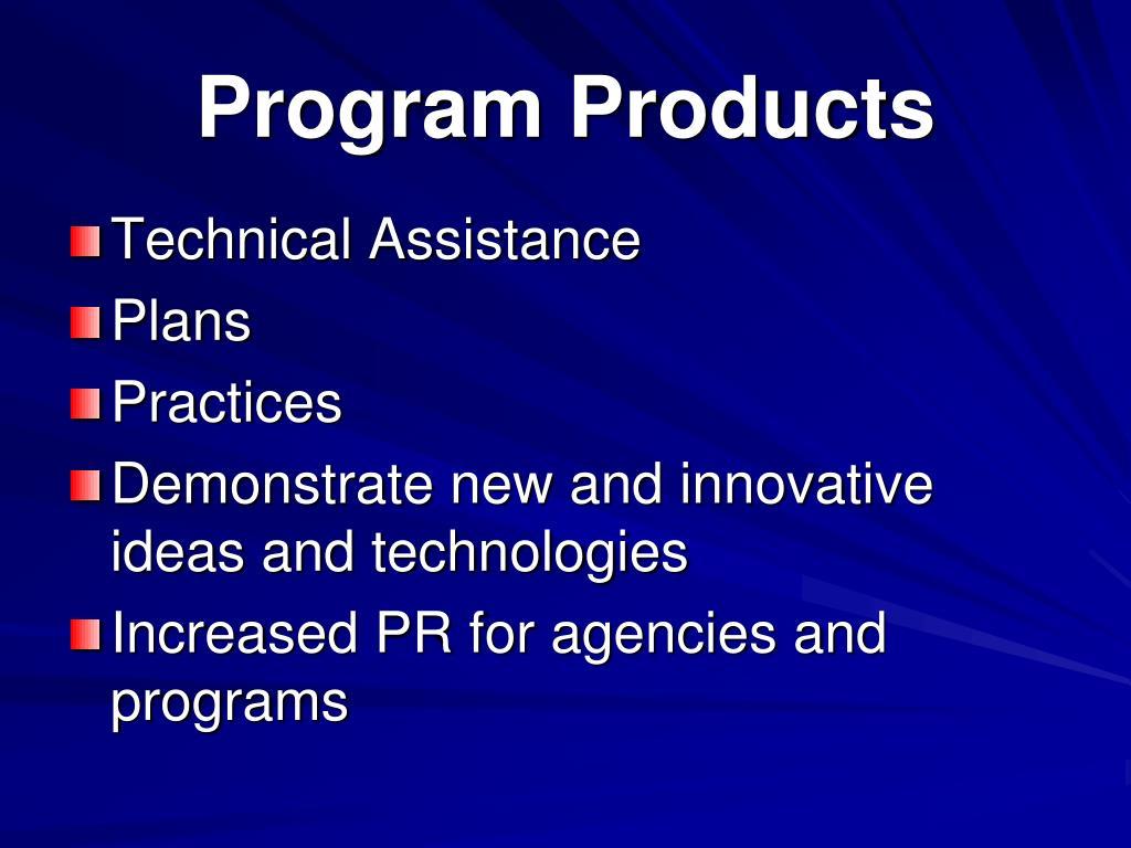 Program Products