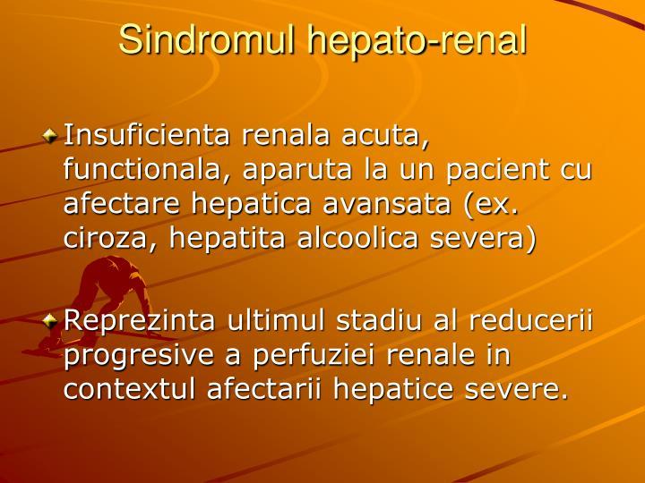 hipertensiune portala