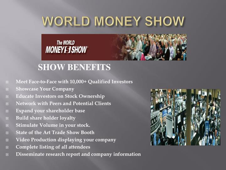 WORLD MONEY SHOW
