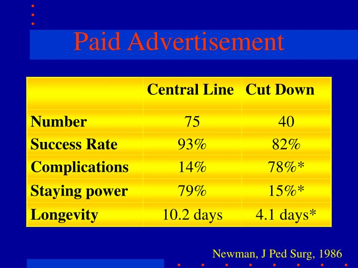 Paid Advertisement