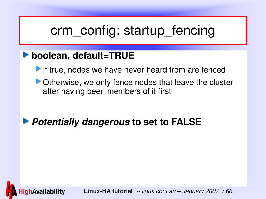 crm_config: startup_fencing