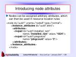 introducing node attributes