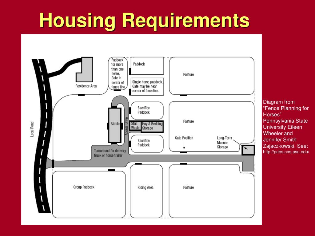 Housing Requirements