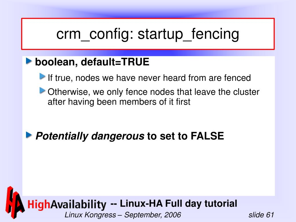 crm_config: startup_fencing
