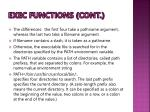 exec functions cont2