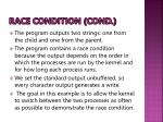 race condition cond
