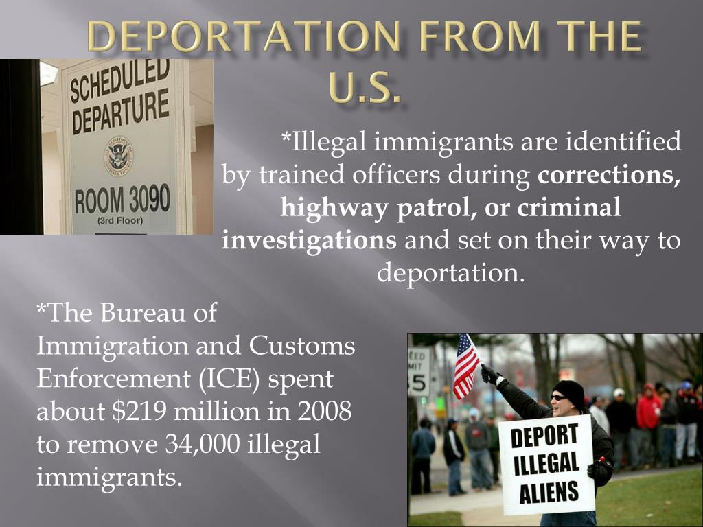 Deportation from the U.S.