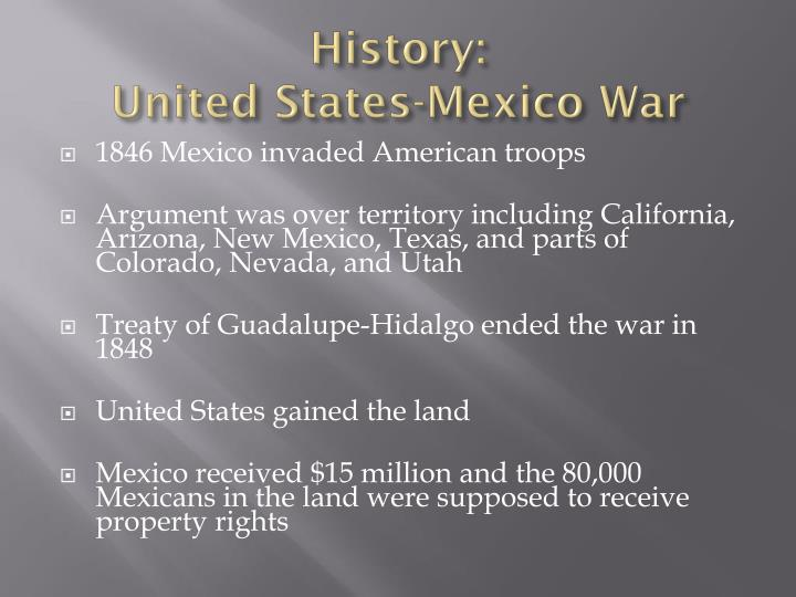 History united states mexico war
