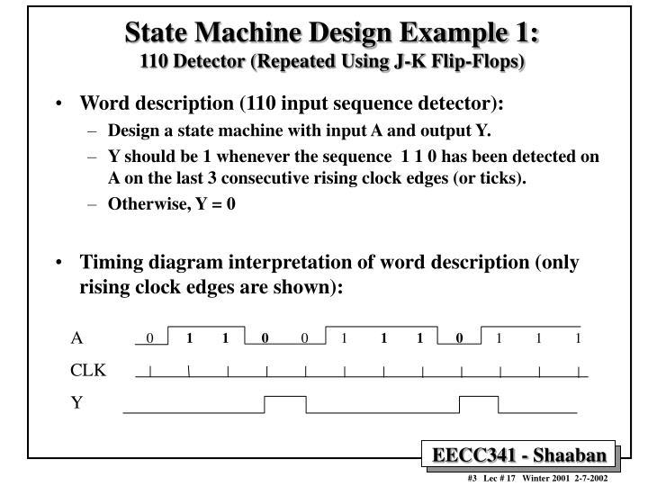 State Machine Design Example 1: