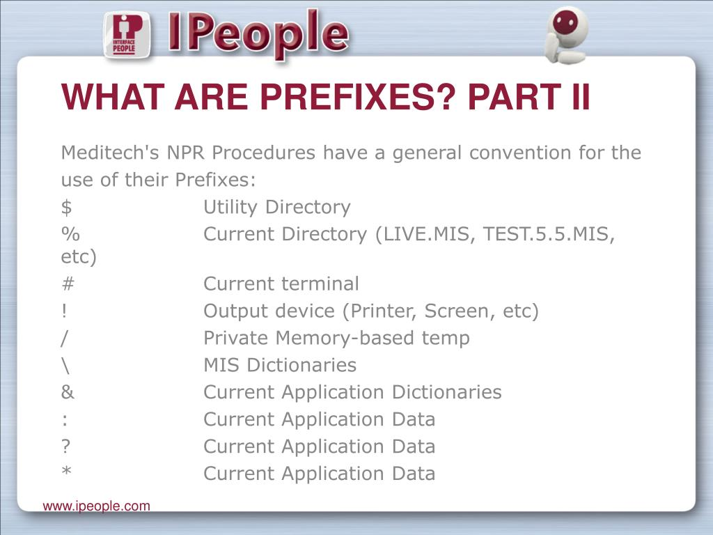 What are Prefixes? Part II