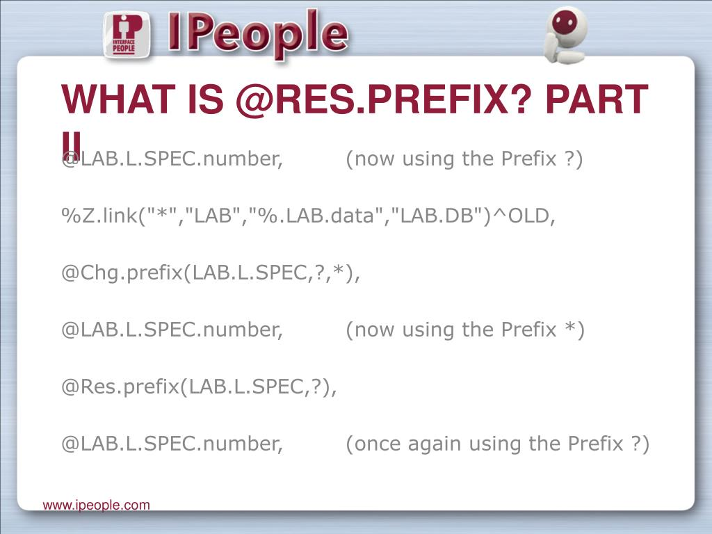 What is @Res.prefix? Part II