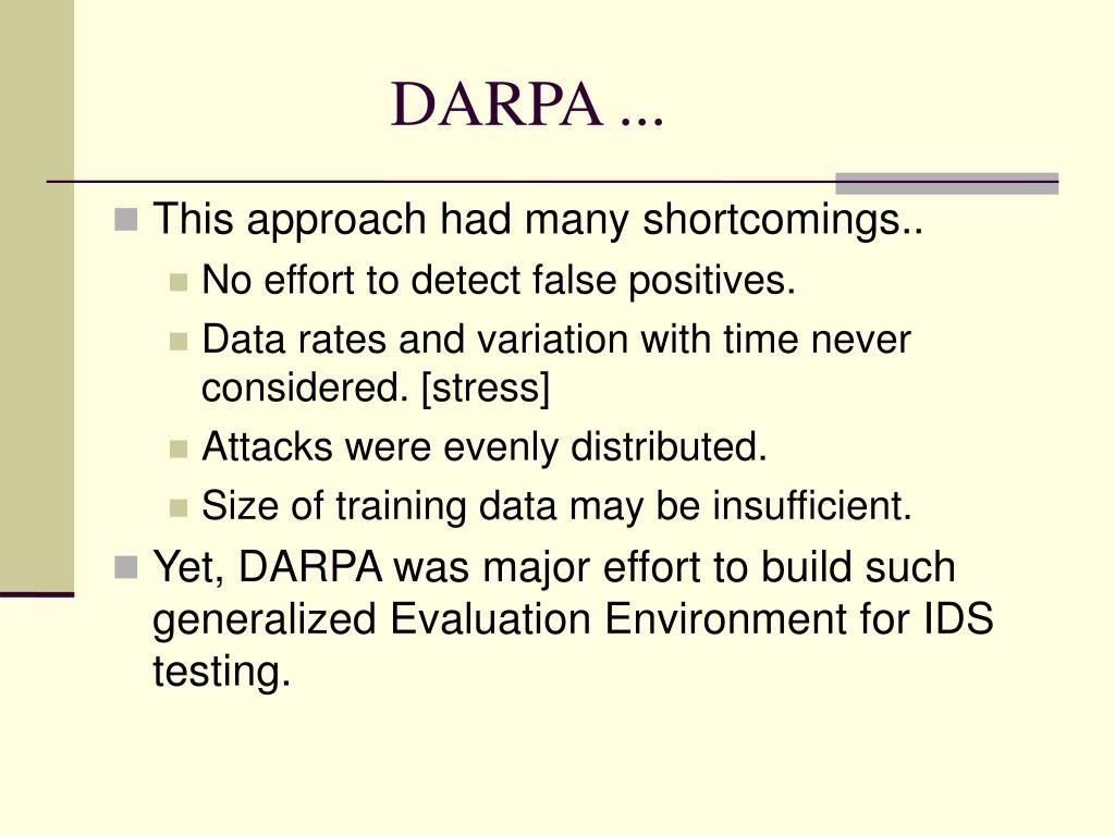 DARPA ...