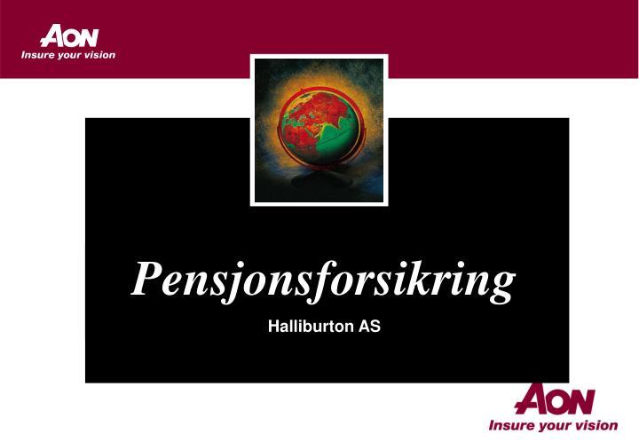 Pensjonsforsikring