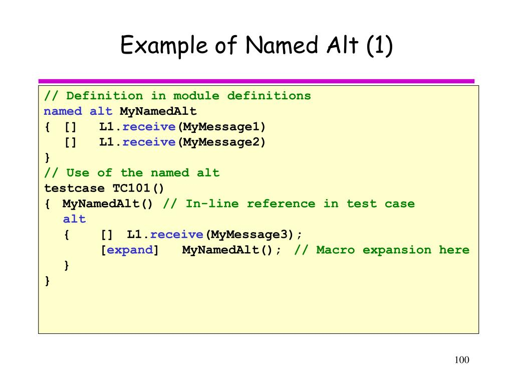 Example of Named Alt (1)