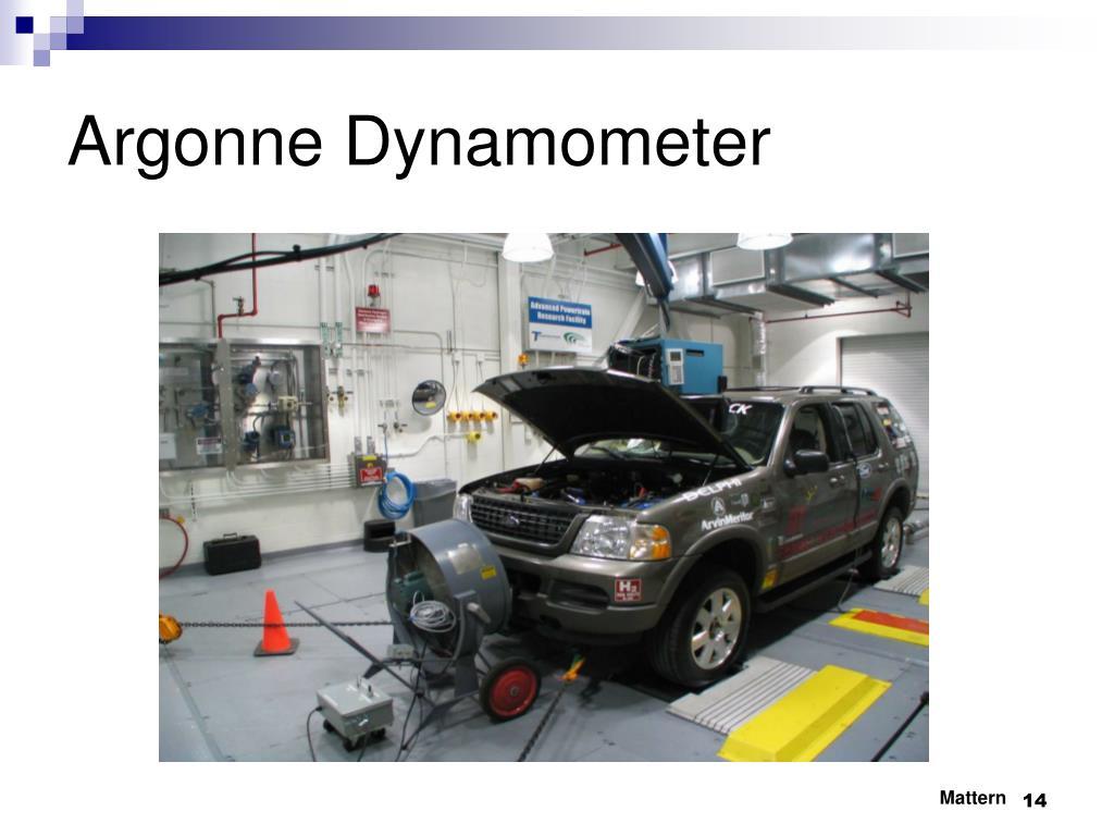 Argonne Dynamometer