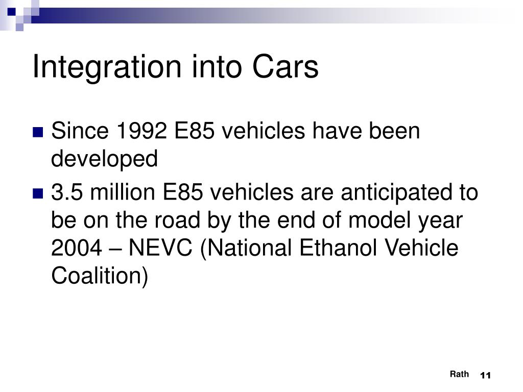 Integration into Cars