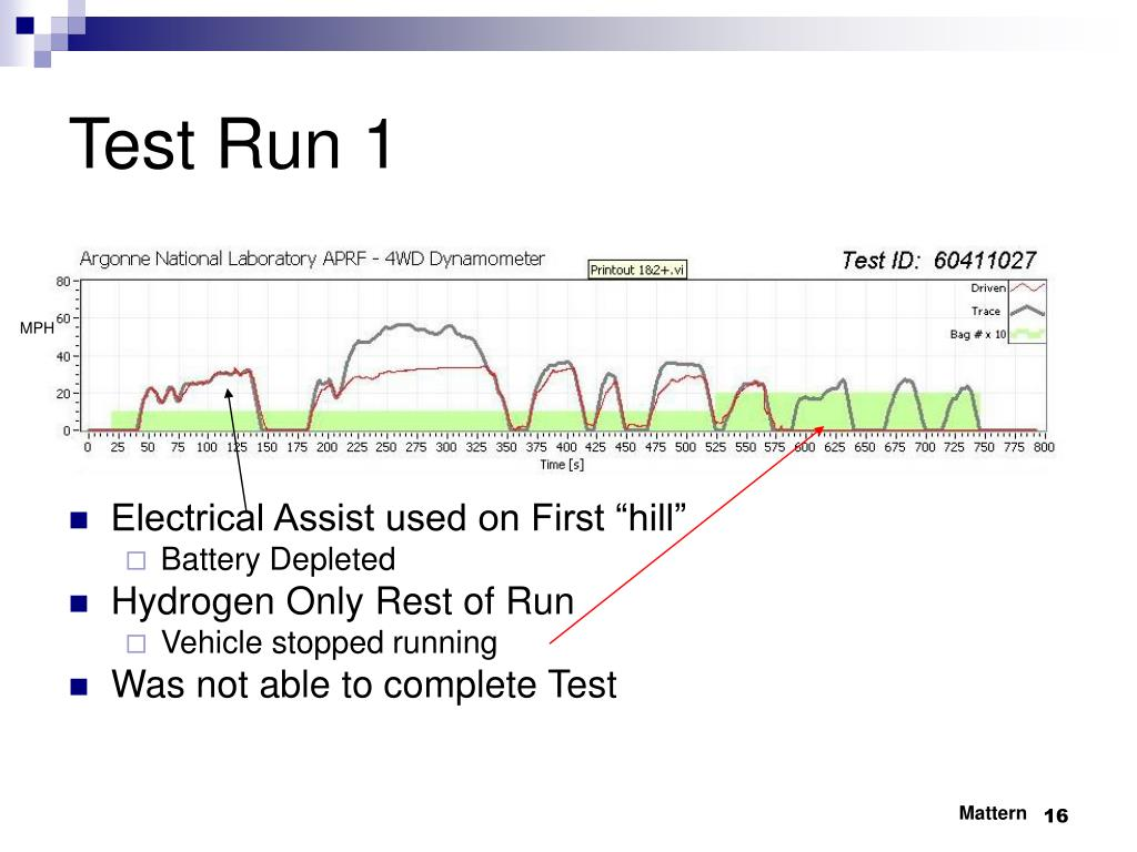 Test Run 1