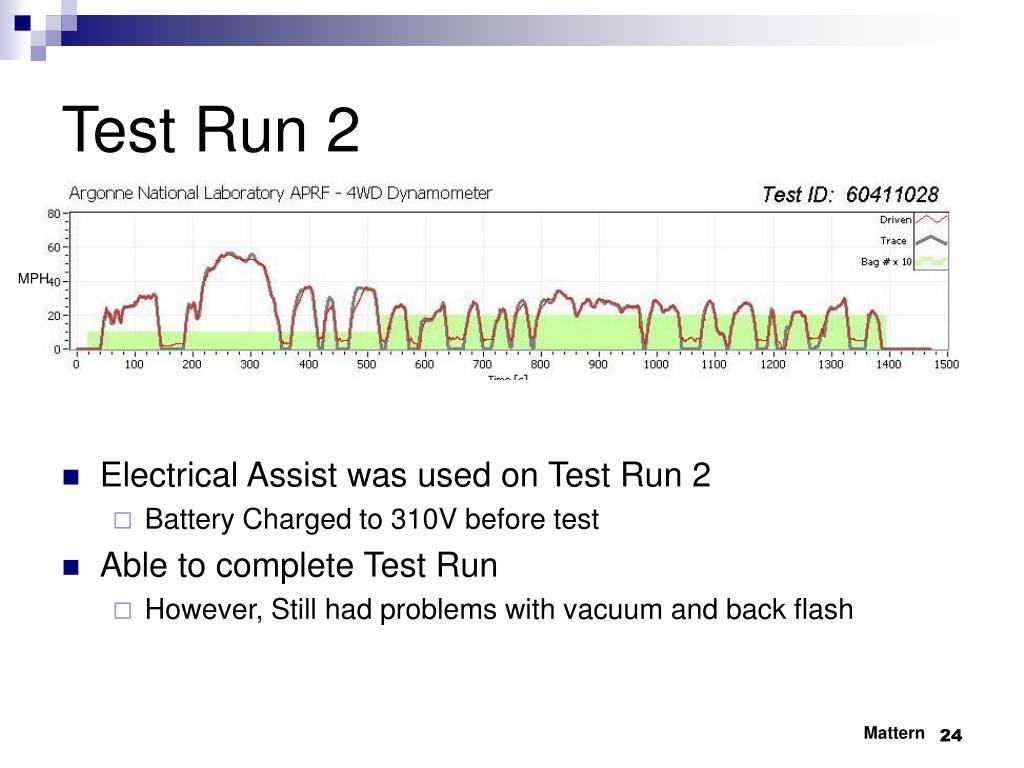 Test Run 2