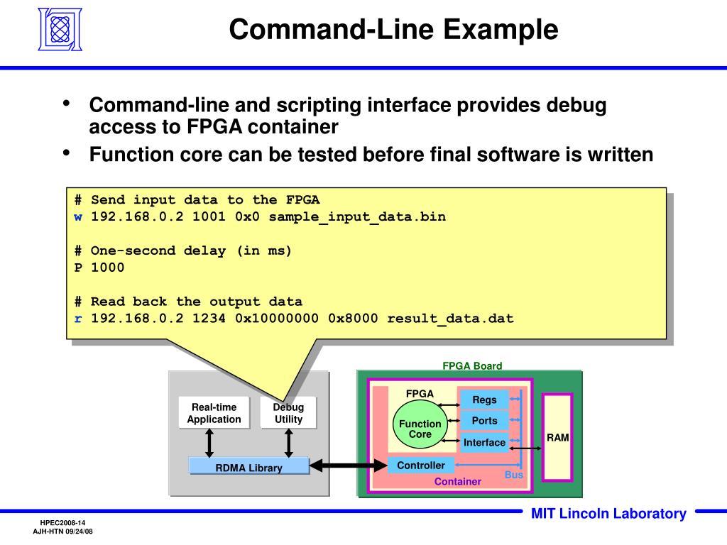 Command-Line Example