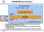 wishbone bus interface