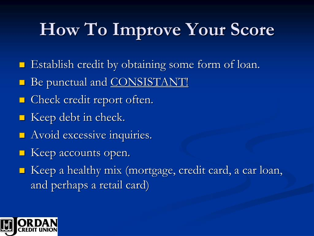 How To Improve Your Score