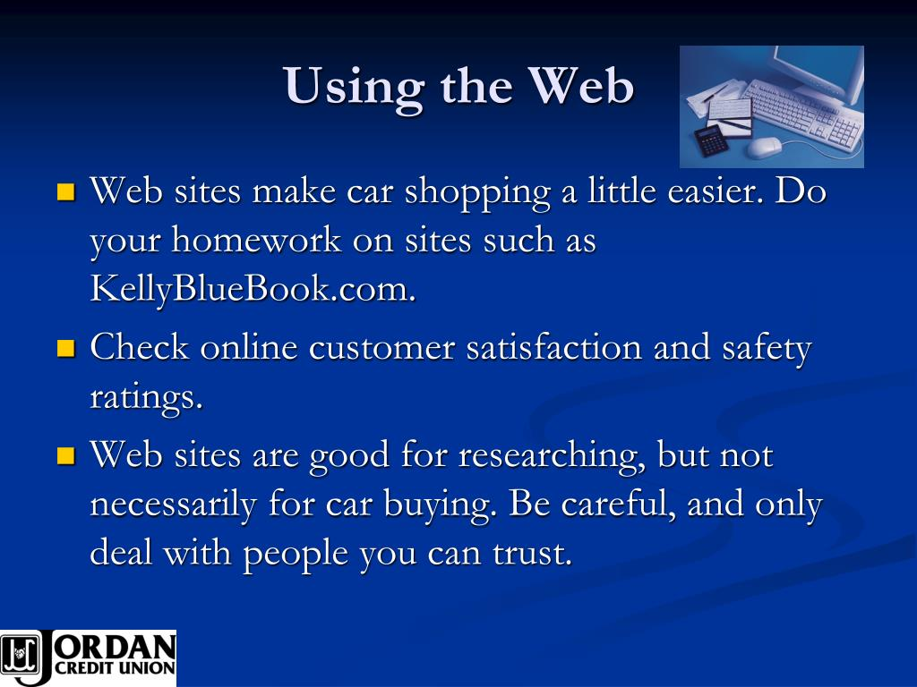 Using the Web