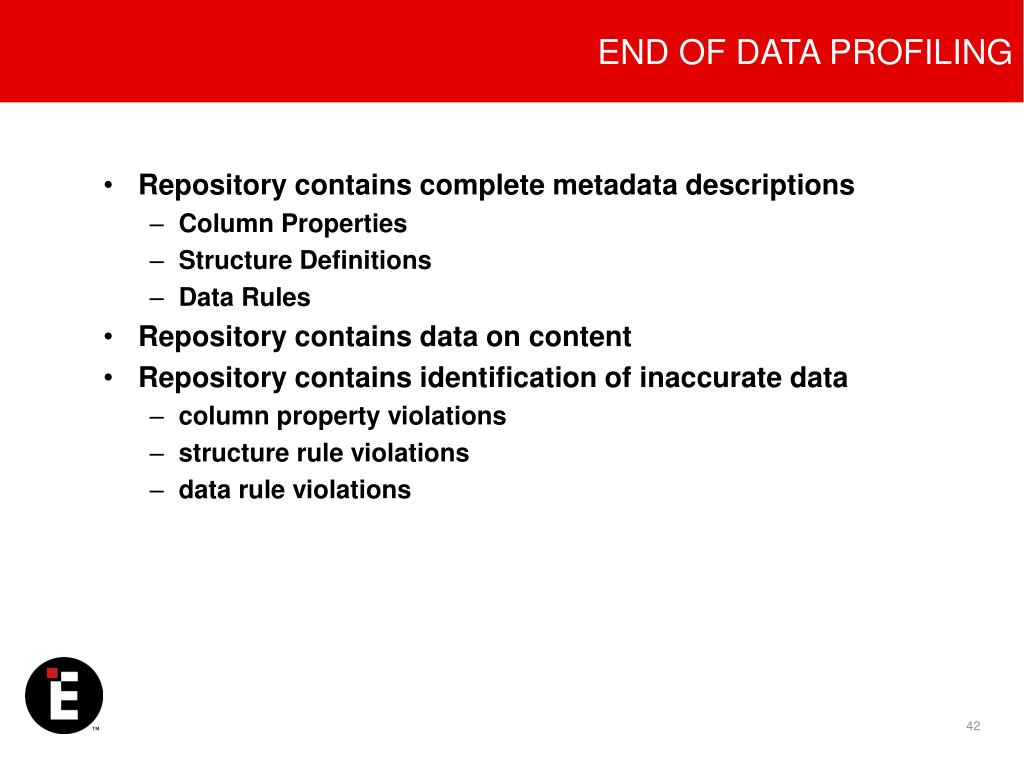 END OF DATA PROFILING