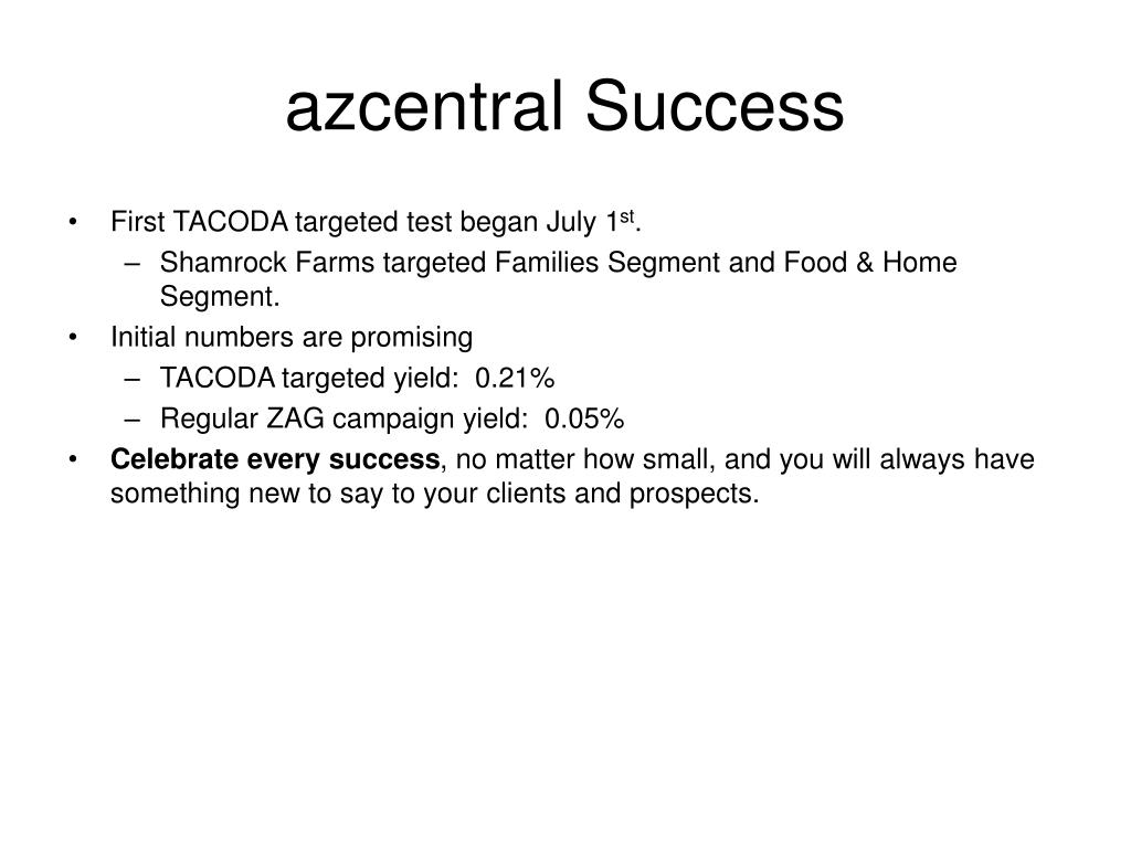 azcentral Success
