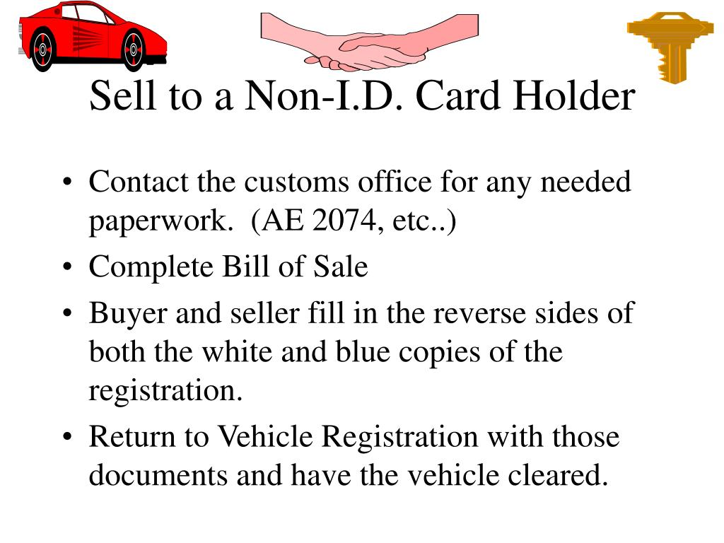 Sell to a Non-I.D. Card Holder