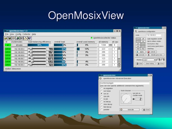 OpenMosixView