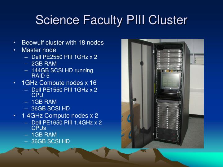 Science Faculty PIII Cluster