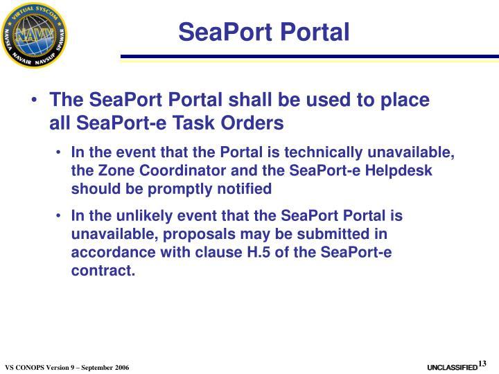 SeaPort Portal