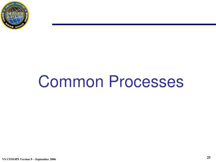 Common Processes