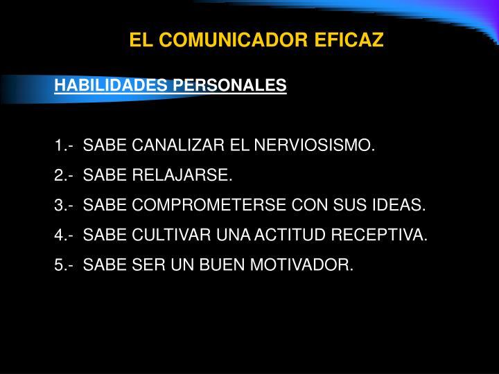 EL COMUNICADOR EFICAZ