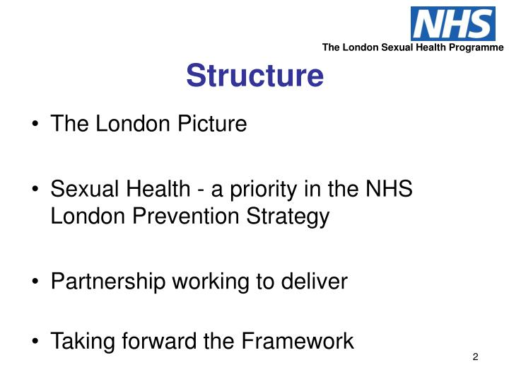 The London Sexual Health Programme