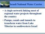 israeli national water carrier