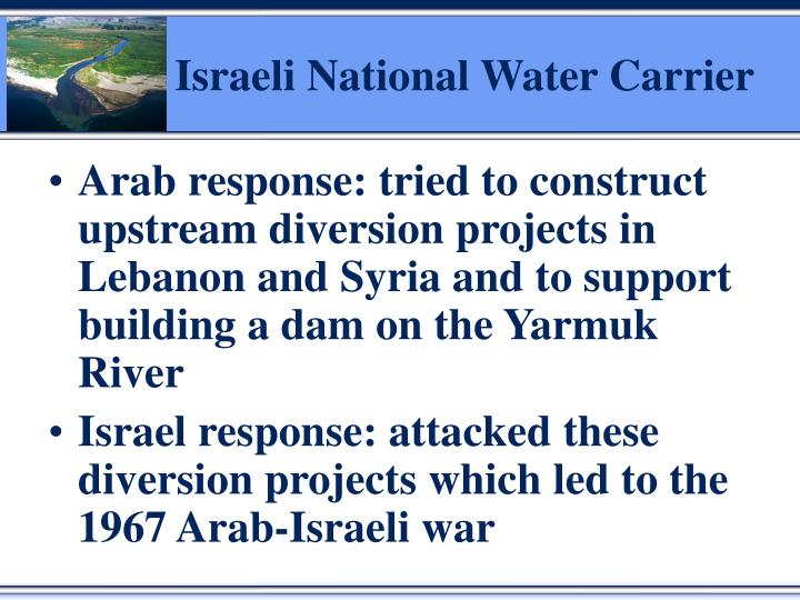 Israeli National Water Carrier