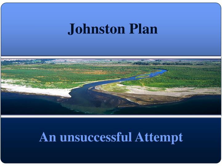 Johnston Plan