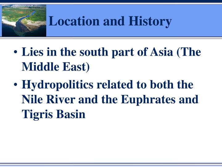 Location and history