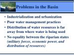 problems in the basin1