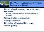 the water agreement between jordan and israel2