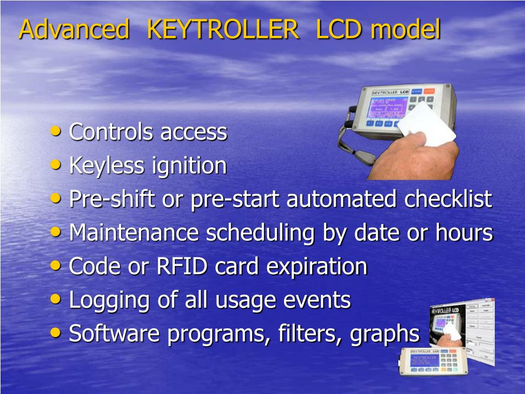 Advanced  KEYTROLLER  LCD model