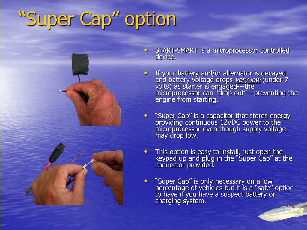 """Super Cap"" option"