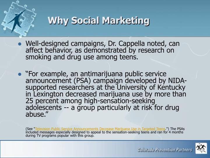 Why Social Marketing