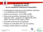 les actions de l ademe campagne de mesure sur les chaufferies collectives et industrielles