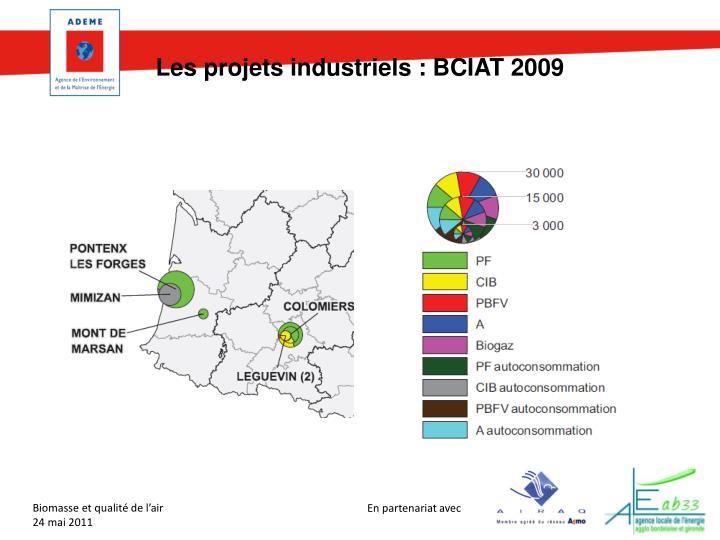 Les projets industriels : BCIAT 2009