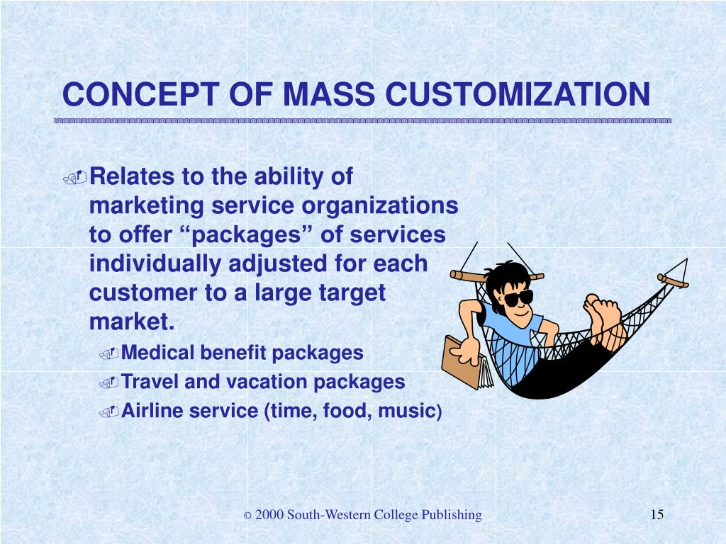 CONCEPT OF MASS CUSTOMIZATION