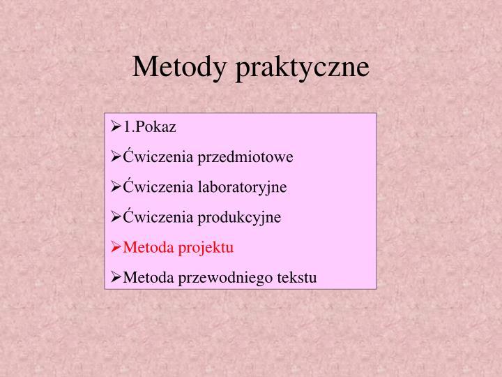 Metody praktyczne